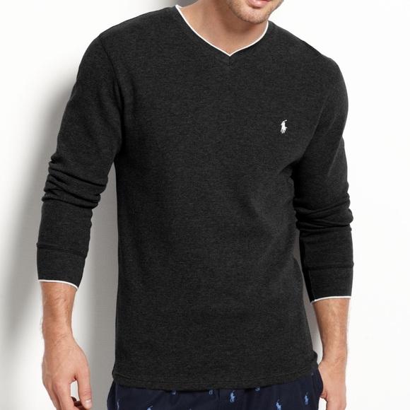 8173c8e6 Polo by Ralph Lauren Shirts   Euc Ralph Lauren Waffle Knit Vneck ...